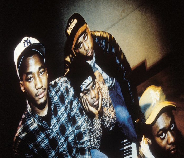 The Original 4 members of possibly the greatest ever band to come from the music of Hip Hop