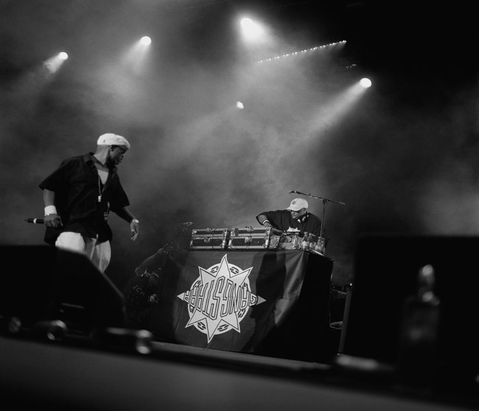 GangStarr Live on Stage wowing the crowds within the city of Hamburg, Germany