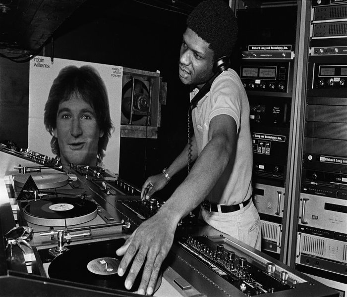 One of the greatest ever Club Djs in History. Larry Levan, New  York, Usa