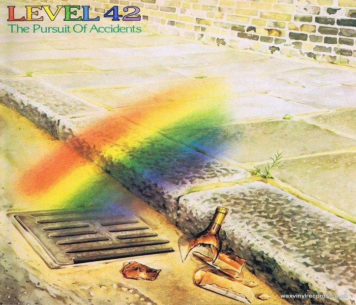 Level 42 3rd album release called The Pursuit of Accidents - 1983